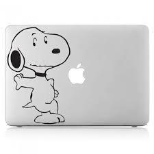 Snoopy Dog Peanut Laptop Macbook Vinyl Decal Sticker