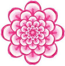 Amazon Com Cute Pretty Girly Asian Floral Sketch Art Vinyl Sticker Dahlia Flower Automotive