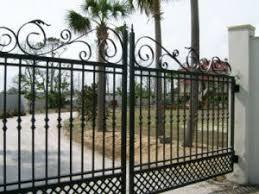 China Swing Gate Design Metal Fence Panel Security Wrought Iron Gate China Gate Rail