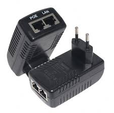 poe injector ethernet adapter 24v 1a