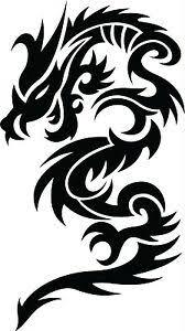 Dragon Tribal Dragons Car Decal Window Sticker Trb010 Ebay