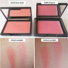 sleek blush in rose gold 926 health
