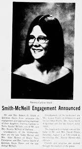 Patricia Carlene Smith - Terry Randal McNeill wedding announcement ...