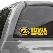 Iowa Hawkeyes Wincraft Stacked Perfect Cut Decal