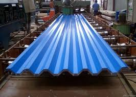 coated corrugated steel roofing sheets
