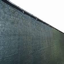 Aleko 6 X 50 Feet Dark Green Fence Privacy Screen Outdoor Backyard Fencing Privacy Windscreen Shade Cover Me Privacy Screen Outdoor Green Fence Backyard Fences