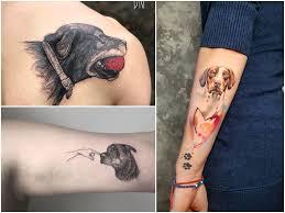 Tatuaz Pies 37 Ciekawych Wzorow Z Podobizna Psa Etatuator Pl