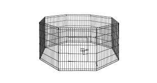 I Pet 30 8 Panel Pet Dog Playpen Puppy Exercise Cage Enclosure Play Pen Fence Matt Blatt