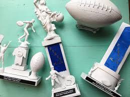 super bowl and diy trophies portland