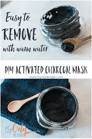how to make a charcoal mask that will