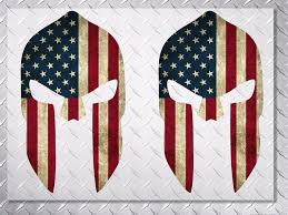 Product Molon Labe Us Usa Flag Spartan Vinyl Decal Sticker 10 Height 2 Decals