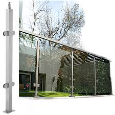 Xiaomi Safety Slip Stainless Steel Glass Staircase Handrails Simple Modern Railing Balcony Guardrail Outdoor Stainless Steel Handrail Column Square Pipe Fence Lazada Ph