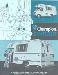 1976 chion bantam dodge motorhome rv