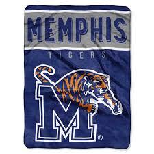 Memphis Tigers Essential Raschel Blanket Throw