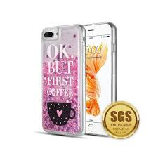 Shop Insten For Apple Iphone 6 Plus 6s Plus 7 Plus 8 Plus Pink Coffee First Skin Case Overstock 26382735