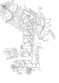 Happy Birthday Gefeliciteerd Jarig Jarige Kleurplaten