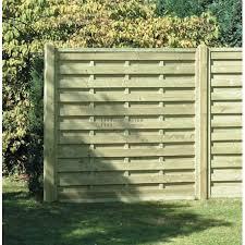 Square Horizontal Fence Panel 1800mm X 1800mm