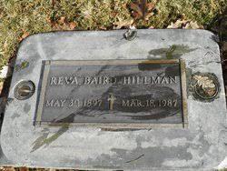Reva Smith Baird Hillman (1897-1987) - Find A Grave Memorial