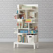 Modern Maze Tall Bookcase The Land Of Nod Bookcase Kids Bookcase Tall Bookcases