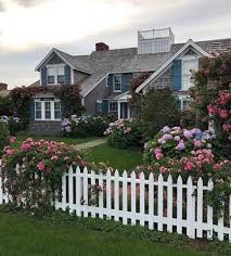House With A White Picket Fence Tumblr
