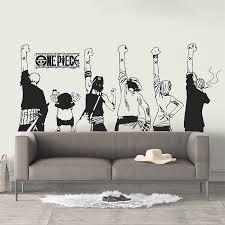 One Piece Team Hands Up Vinyl Wall Art Decal