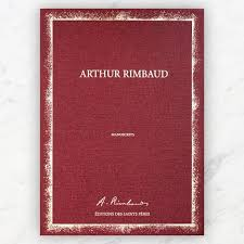 Manuscrits d'Arthur Rimbaud