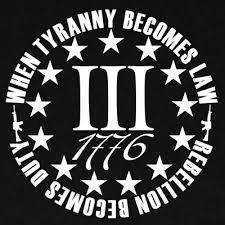 3 Iii 3 Percenter 1776 Sticker Decal Merica 2a Gun Rights Percent Freedom 5 89 Picclick