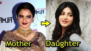 mothers of famous bollywood actress