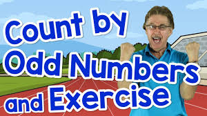 count by odd numbers exercise