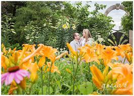 green bay botanical gardens engagement