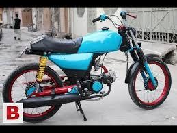 honda 70 bike tanki tapay design