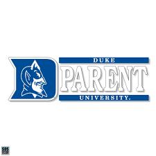 Duke Parent Vinyl Decal Ultimate Sports Apparel