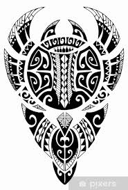 Maori Manta Tattoo Sticker Pixers We Live To Change