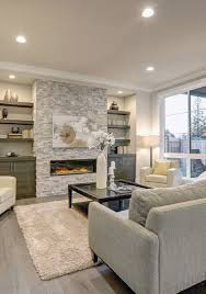gas fireplace with built ins factor