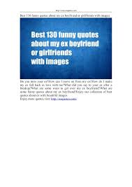 best funny quotes about my ex boyfriend or girlfriends images