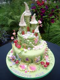 Pin by Lori Kelso on Campanilla y demás | Fairy cakes, Beautiful birthday  cakes, Fairy house cake