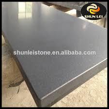 honed black granite hearth for stoves