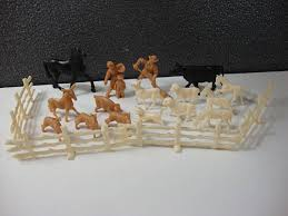 Assortment Of Timmee Toys Small Farm Animals Figures And Fence Pieces Vintage Plastic Toy Farm Horse Cow Small Farm Small Pets Horse Farms