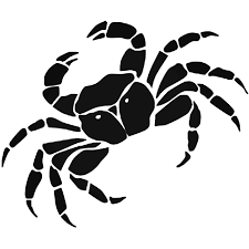 Crab Wildlfie Decal Sticker Style 1 Vinyl Decal Sticker