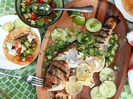 Whole Grilled Fish Tacos Recipe ...