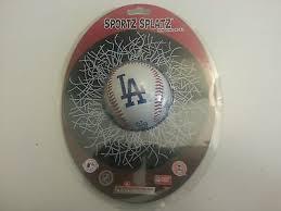 Los Angeles Dodgers Car Window Decal Sportz Splatz Mlb Genuine Merchandise Nib 526290098