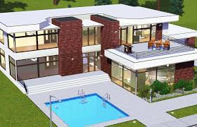 modern big house mediterranean plans