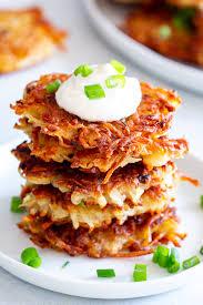 crispy potato latkes whole30 the