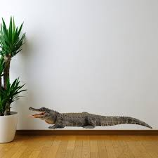 Large Alligator Wall Decal Custom By Inkwood Impressions On Zibbet