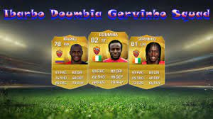 FIFA 15 Ibarbo Gervinho and Doumbia Squad Builder - YouTube