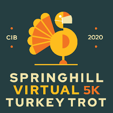 Donate to Springhill Communities in Bloom - Springhill Virtual Turkey Trot  — Race Roster — Registration, Marketing, Fundraising