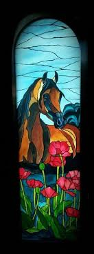 37 best stained glass horses images