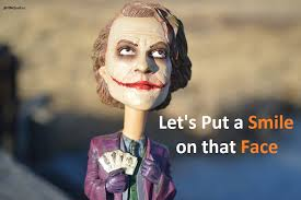 let s put a smile on that face joker quotes dc comics