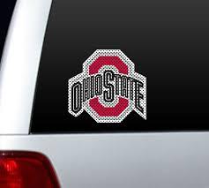 Big 12 Ohio State Buckeyes Car Home Perforated Window Film Decal Ebay