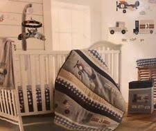 Levtex Baby On The Go 4 Pc Crib Bedding Set Includes Wall Decals For Sale Online Ebay